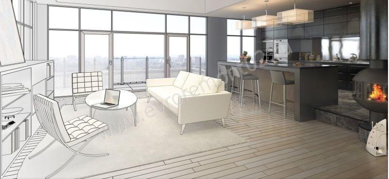 Ремонт квартир под ключ цена за квадратный метр — Цена за